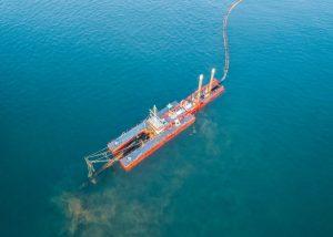 Ocean dredger